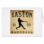 Béisbol 1889 de Easton New Jersey Felicitación