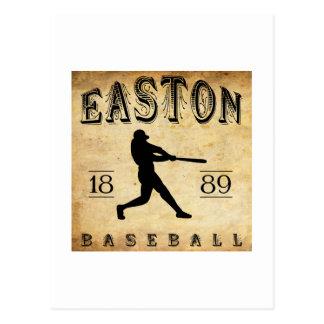 Béisbol 1889 de Easton New Jersey Postal