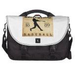 Béisbol 1889 de Lansing Michigan Bolsas Para Ordenador