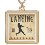 Béisbol 1889 de Lansing Michigan Grimpolas Personalizadas