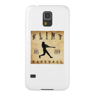 Béisbol 1889 de Michigan del pedernal Carcasas De Galaxy S5