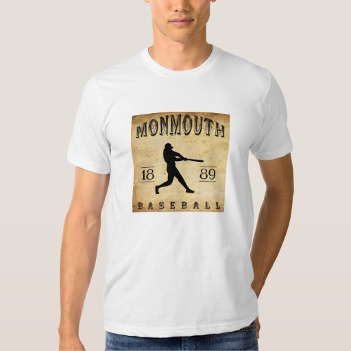 Béisbol 1889 de Monmouth Iowa Camisas