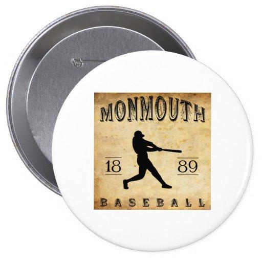 Béisbol 1889 de Monmouth Iowa Pin