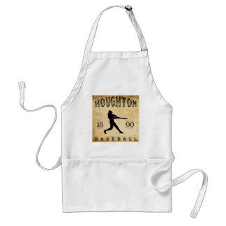Béisbol 1890 de Houghton Michigan Delantal