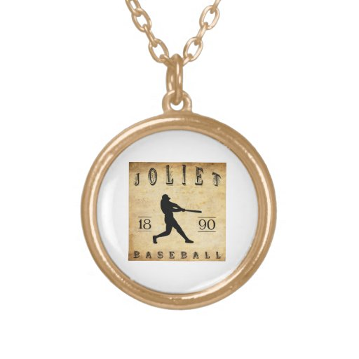 Béisbol 1890 de Joliet Illinois Collar