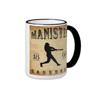 Béisbol 1890 de Manistee Michigan Tazas