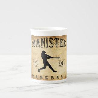 Béisbol 1890 de Manistee Michigan Taza De Porcelana