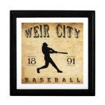 Béisbol 1891 de Kansas de la ciudad del vertedero Cajas De Joyas