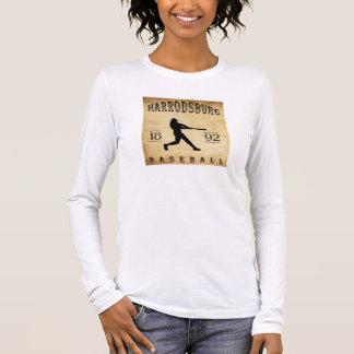Béisbol 1892 de Harrodsburg Kentucky Playera De Manga Larga