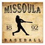 Béisbol 1892 de Missoula Montana Impresion Fotografica