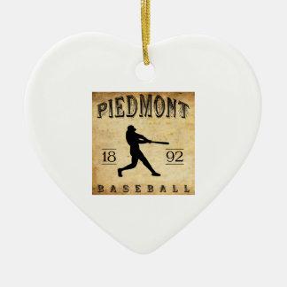 Béisbol 1892 de Piamonte California Ornaments Para Arbol De Navidad