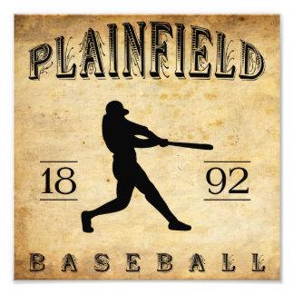 Béisbol 1892 de Plainfield New Jersey Impresión Fotográfica