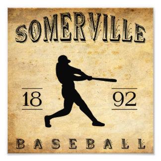Béisbol 1892 de Somerville New Jersey Cojinete