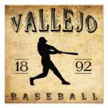 Béisbol 1892 de Vallejo California Arte Con Fotos