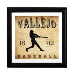 Béisbol 1892 de Vallejo California Cajas De Regalo