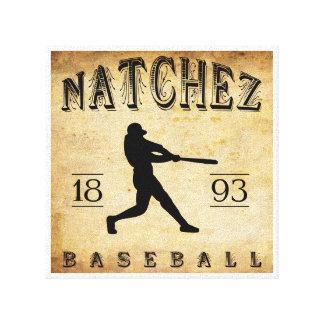 Béisbol 1893 de Natchez Mississippi Lona Estirada Galerías