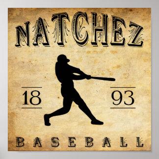 Béisbol 1893 de Natchez Mississippi Impresiones