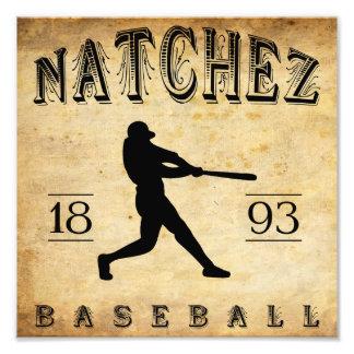 Béisbol 1893 de Natchez Mississippi Fotografias