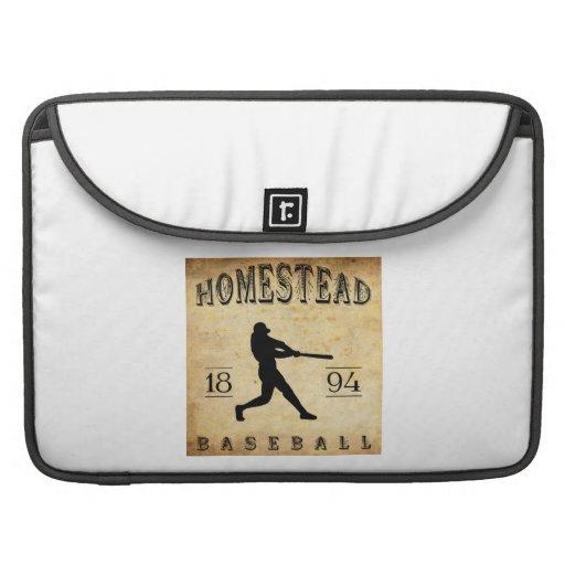 Béisbol 1894 de Pennsylvania de la granja Fundas Para Macbooks