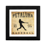 Béisbol 1894 de Petaluma California Cajas De Joyas