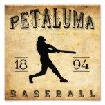 Béisbol 1894 de Petaluma California Fotografia