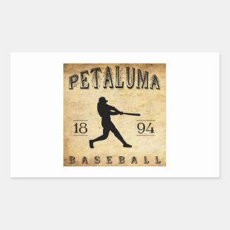 Béisbol 1894 de Petaluma California Rectangular Altavoces