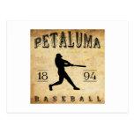 Béisbol 1894 de Petaluma California Postal