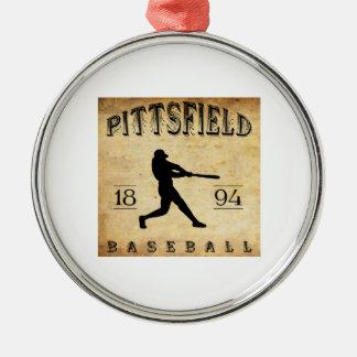 Béisbol 1894 de Pittsfield Nueva York Ornamentos De Navidad