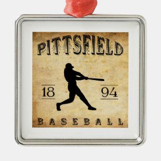 Béisbol 1894 de Pittsfield Nueva York Ornamentos De Reyes
