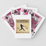Béisbol 1894 de Wilmerding Pennsylvania Baraja De Cartas