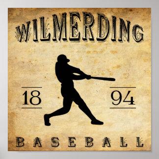 Béisbol 1894 de Wilmerding Pennsylvania Impresiones