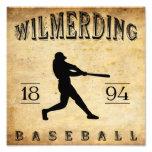Béisbol 1894 de Wilmerding Pennsylvania Impresiones Fotograficas