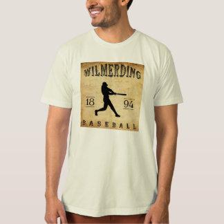 Béisbol 1894 de Wilmerding Pennsylvania Poleras