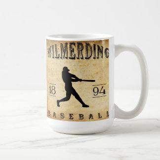 Béisbol 1894 de Wilmerding Pennsylvania Taza