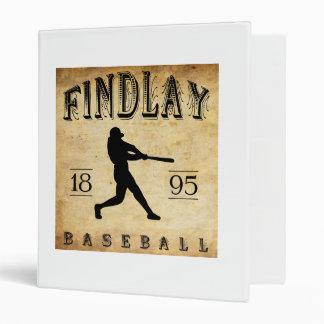 "Béisbol 1895 de Findlay Ohio Carpeta 1"""