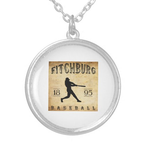 Béisbol 1895 de Fitchburg Massachusetts Collar