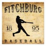 Béisbol 1895 de Fitchburg Massachusetts Foto