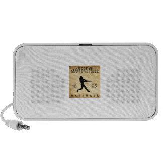 Béisbol 1895 de Gloversville Nueva York iPhone Altavoz
