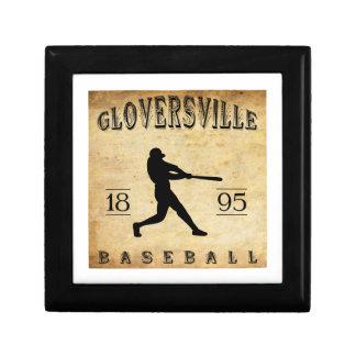 Béisbol 1895 de Gloversville Nueva York Caja De Joyas