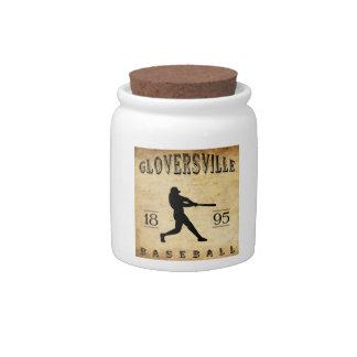 Béisbol 1895 de Gloversville Nueva York Platos Para Caramelos