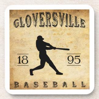 Béisbol 1895 de Gloversville Nueva York Posavasos De Bebidas