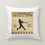 Béisbol 1895 de Hagerstown Maryland Almohadas