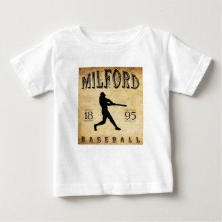 Béisbol 1895 de Milford New Hampshire Camisetas