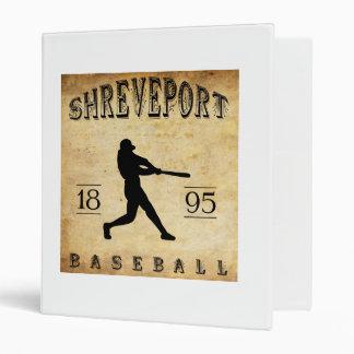 "Béisbol 1895 de Shreveport Luisiana Carpeta 1"""