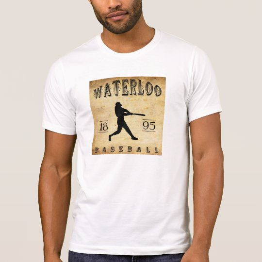 Béisbol 1895 de Waterloo Iowa Playera