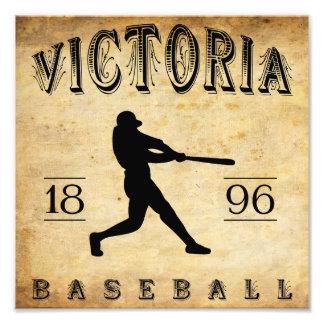 Béisbol 1896 de Canadá de la Columbia Británica de Impresión Fotográfica