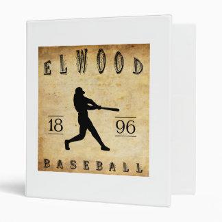 """Béisbol 1896 de Elwood Indiana Carpeta 1"""""""