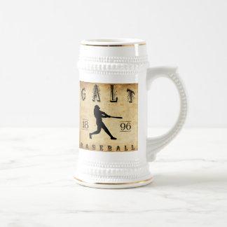Béisbol 1896 de Galt Ontario Canadá Jarra De Cerveza