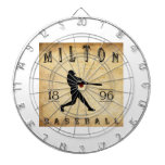 Béisbol 1896 de Milton Pennsylvania Tabla Dardos