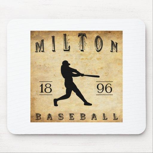 Béisbol 1896 de Milton Pennsylvania Tapete De Ratón